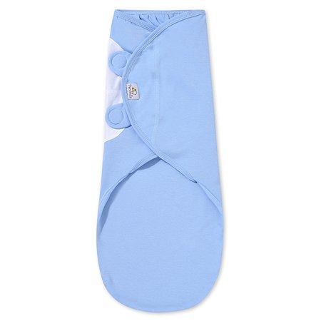 Пеленка Pecorella SwaddleFun на липучках XL 6.5-10кг Ocean Blue