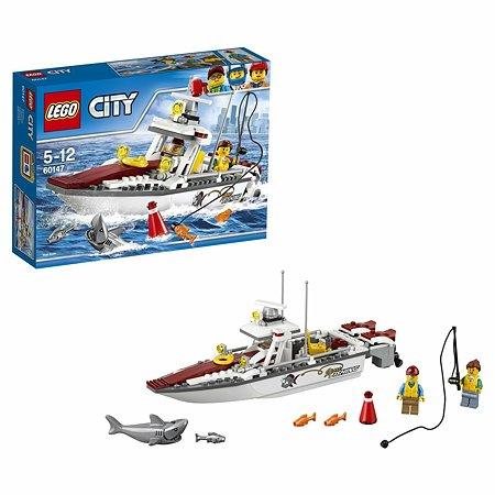 Конструктор LEGO City Great Vehicles Рыболовный катер (60147)