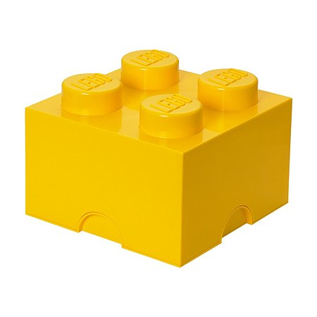 Система хранения LEGO 4 желтый