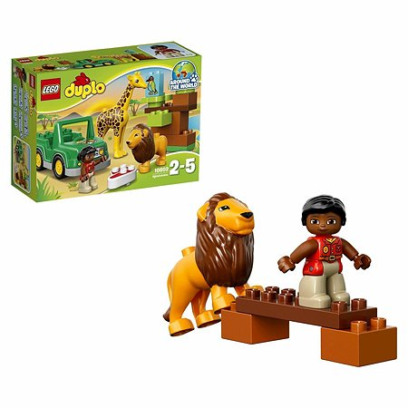 Конструктор LEGO DUPLO Town Вокруг света: Африка (10802)