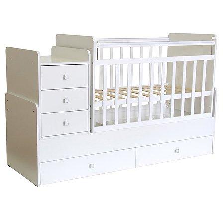 Кровать детская Фея 1100 Белый 0001033.9