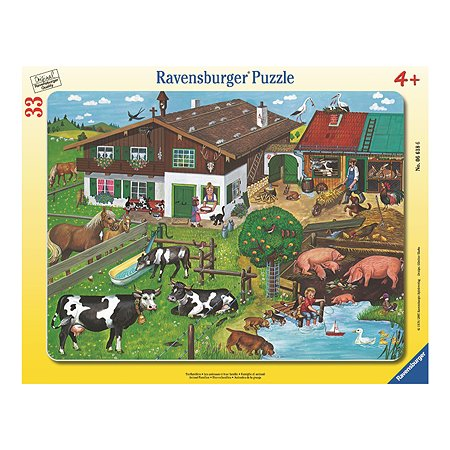 Пазл Ravensburger Деревенские животные 30-48 дет в ассортименте