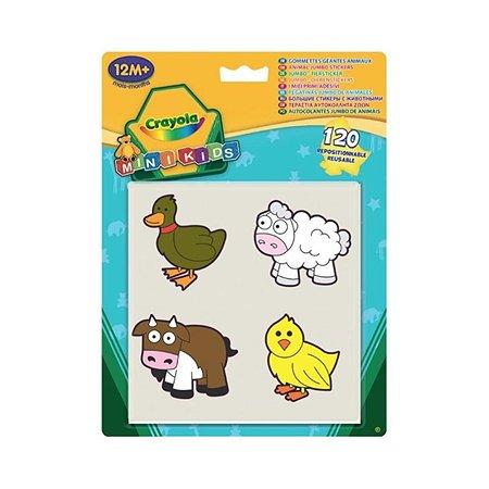Большие стикеры Crayola Животные