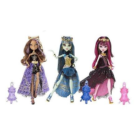 Куклы Monster High Monster High 13 Желаний Марокканская вечеринка в ассортименте