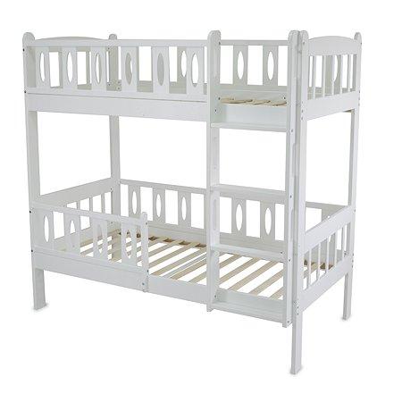 Кровать двухъярусная Babyton Соня 3 Белый