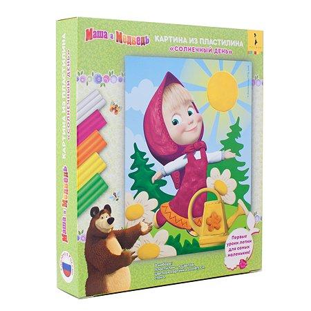 Набор для творчества Маша и Медведь Картина из пластилина 35222