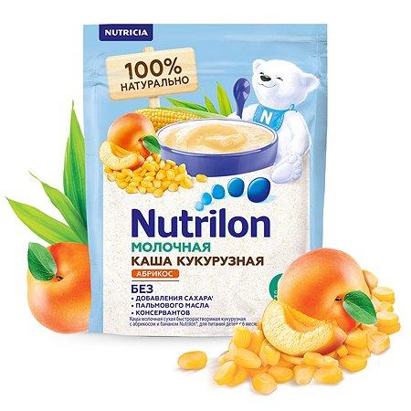 Каша молочная Nutrilon кукурузная абрикос-банан 200г с 6месяцев