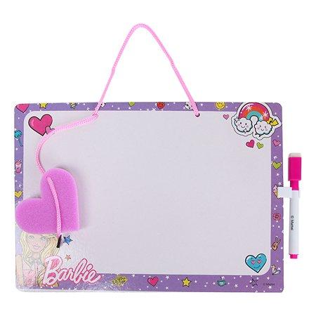 Доска Erhaft Barbie Пиши-стирай DM0015