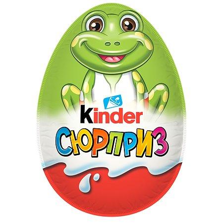 Яйцо шоколадное Kinder Kinder Сюрприз весна 20г в непрозрачной упаковке (Сюрприз)