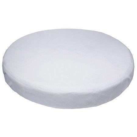 Простыня Babyton Rondo 75*75см трикотажная круглая на резинке 2015 Bianco