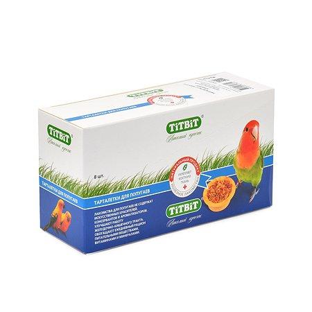 Лакомство для попугаев TITBIT Тарталетки с манго и злаками 64 г