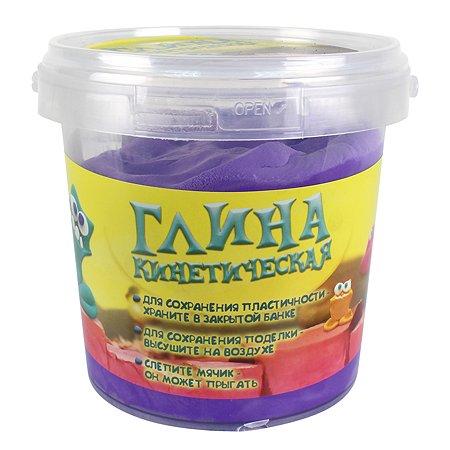 Глина кинетическая 1TOY Фиолетовая Т11355а