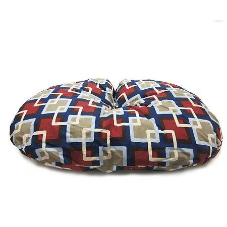 Подушка для собак IMAC Milu quiet для лежака Dido средняя Красная-Бежевая-Синяя