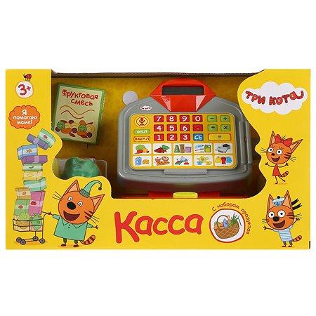 Игрушка Играем вместе Три Кота Касса с продуктами 282113