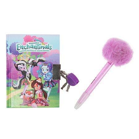 Набор Erhaft Enchantimals блокнот+ручка DM0019