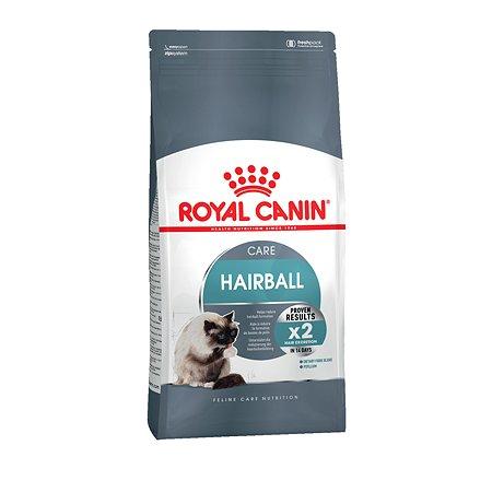 Корм сухой для кошек ROYAL CANIN Hairball Care 2кг для профилактики образования волосяных комочков в желудочно-кишечном тракте