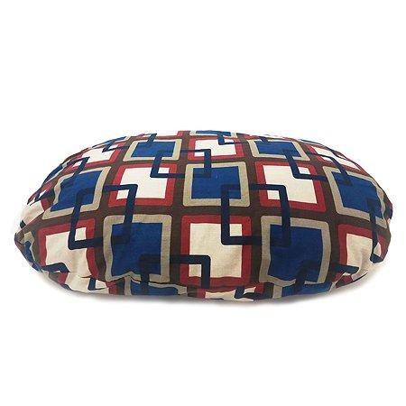 Подушка для собак IMAC Milu peace для лежака Dido большая Синяя-Бордовая-Красная
