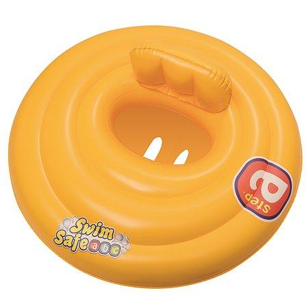 Круг для плавания Bestway Swim Safe ступень A трехкамерный 32096