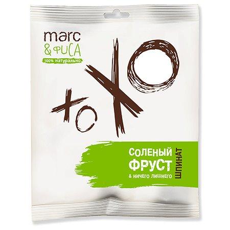 Снек Marc&Фиса Солёный фруст шпинат 50г