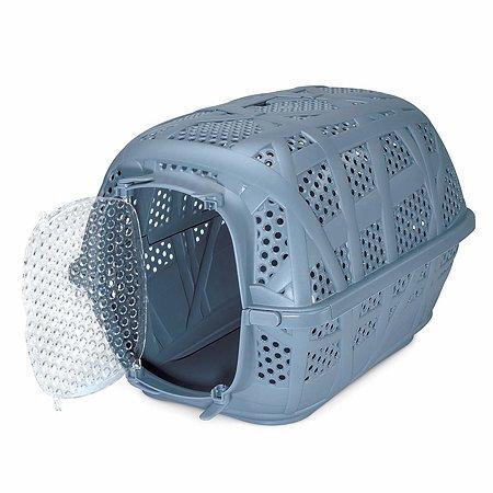 Переноска для кошек и собак IMAC carry sport средняя Пепельно-синяя