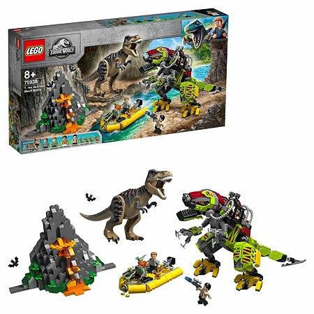 Конструктор LEGO Jurassic World Бой тираннозавра и робота-динозавра 75938