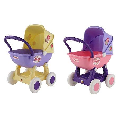 Коляска для кукол Полесье Arina 4-х колёсная (в пакете) в ассортименте