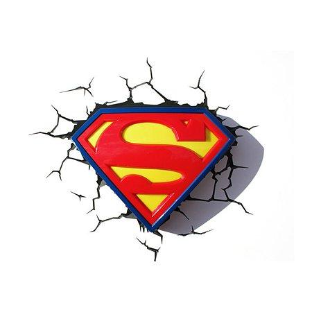 Светильник 3D 3DLightFx Superman Logo