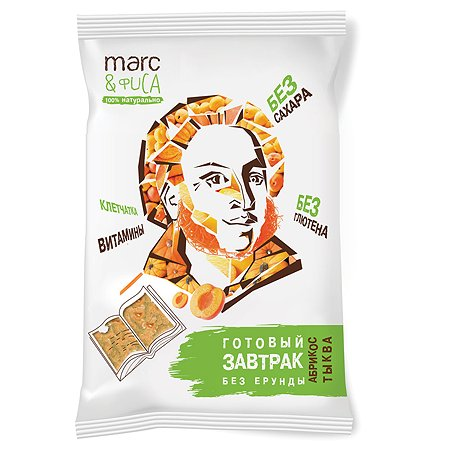 Готовый завтрак Marc&Фиса абрикос-тыква 200г