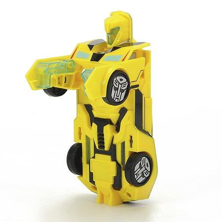 Машинка-трансформер Dickie Bumblebee  свет/звук