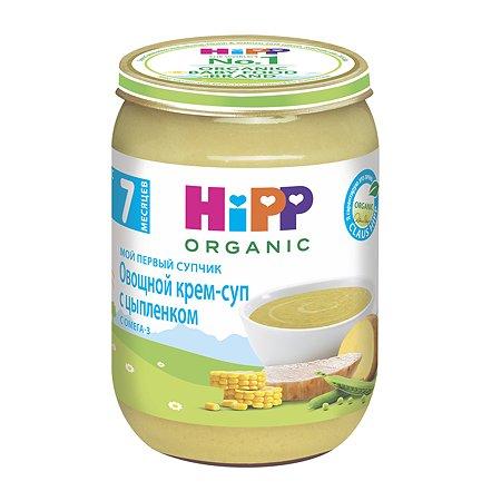 Пюре Hipp крем-суп овощи-цыпленок 190г с 7месяцев