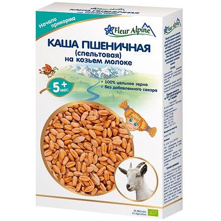 Каша Fleur Alpine спельтовая козьем молоке 200г с 5месяцев