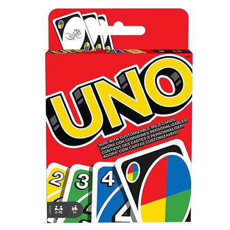 Карточная игра Mattel Уно