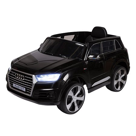 Электромобиль Kreiss Audi Q7 2X6V черный (свет/звук)