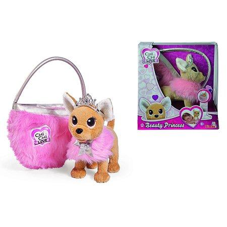 Принцесса Chi Chi Love с пушистой сумкой