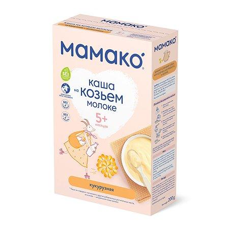 Каша Мамако кукурузная с пребиотиком на козьем молоке 200г с 5месяцев
