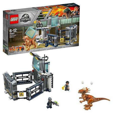 Конструктор LEGO Jurassic World Побег стигимолоха из лаборатории 75927