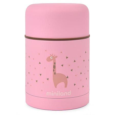 Термос Miniland Silky 600мл Розовый 89222