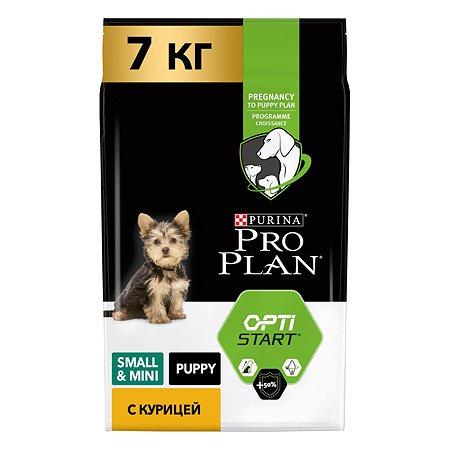 Корм для щенков PROPLAN мелких и миниатюрных пород с комплексом Optistar курица с рисом 7кг