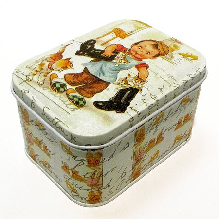 Коробка для безделушек и мелочей Magic Time Мальчик и котята