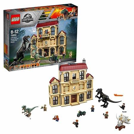 Конструктор LEGO Jurassic World Нападение индораптора в поместье Локвуд 75930