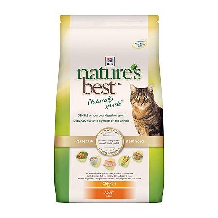 Корм сухой для кошек HILLS Natures Best 2кг натуральный с курицей