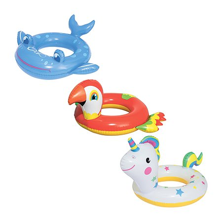 Круг для плавания Bestway Животные в ассортименте 36128