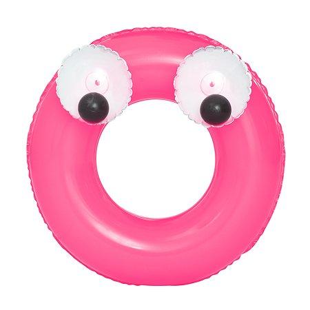 Круг для плавания Bestway Глазастики Розовый 36114