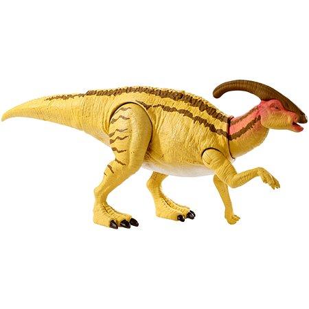 Фигурка Jurassic World Двойная атака Паразауролоф GDT41