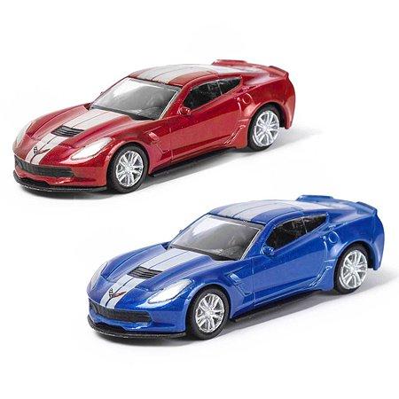 Машинка Mobicaro 1:64 Chevrolet Corvette Grand Sport Special Edition в ассортименте