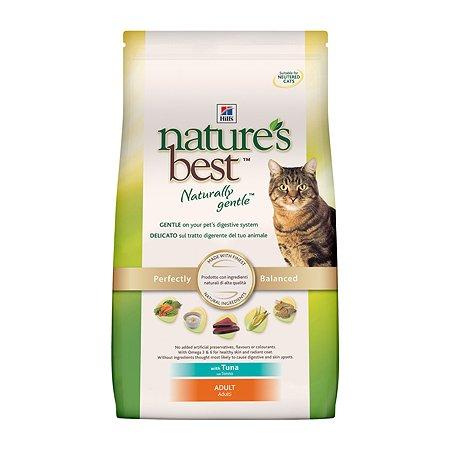 Корм сухой для кошек HILLS Natures Best 2кг натуральный с тунцом