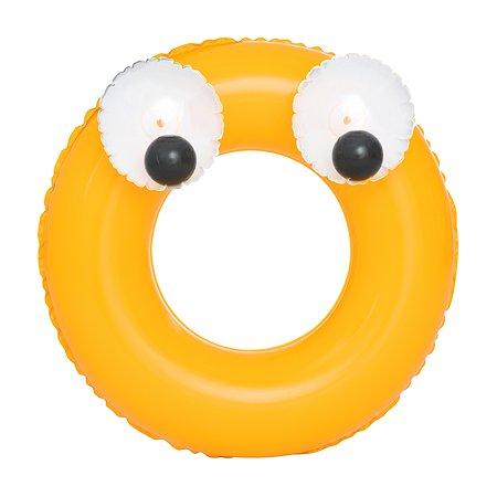 Круг для плавания Bestway Глазастики Желтый 36114