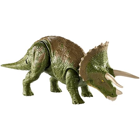 Фигурка Jurassic World Двойная атака Трицератопс GDT42