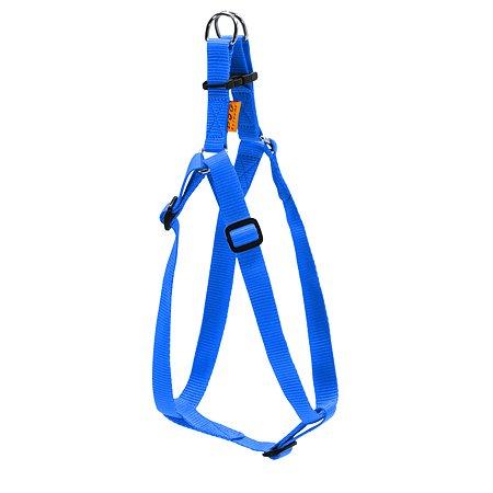 Шлея для собак Dog Extreme регулируемая Синяя 06672