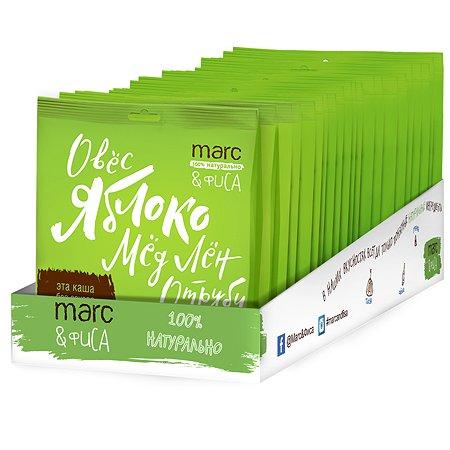 Каша Marc&Фиса овсяная яблоко-корица-мёд 44г*20шт с 3лет
